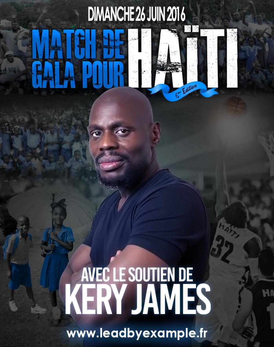 Match de gala Lead by Example 2016: Avec le soutien et la présence de Kery James